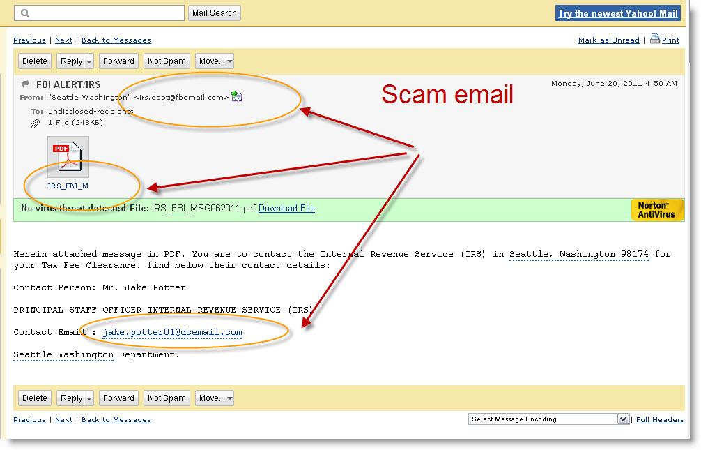 FBI Scam
